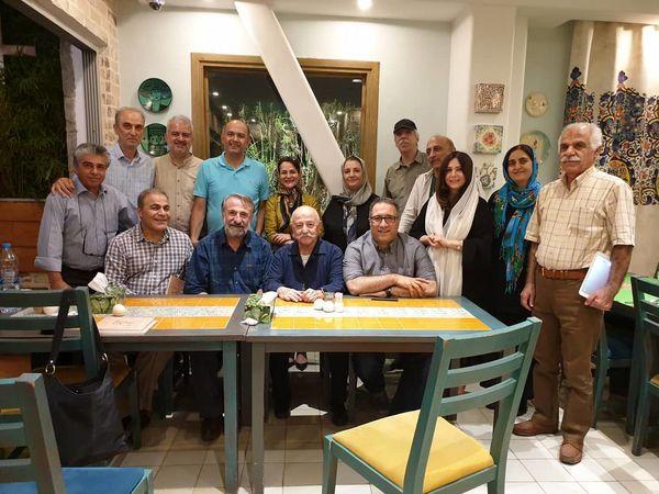 حضور مهران رجبی در جشن تولدی در دانشگاه تهران+عکس