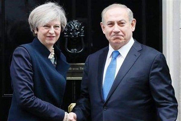 محورهای رایزنی تلفنی نتانیاهو با نخستوزیر انگلیس