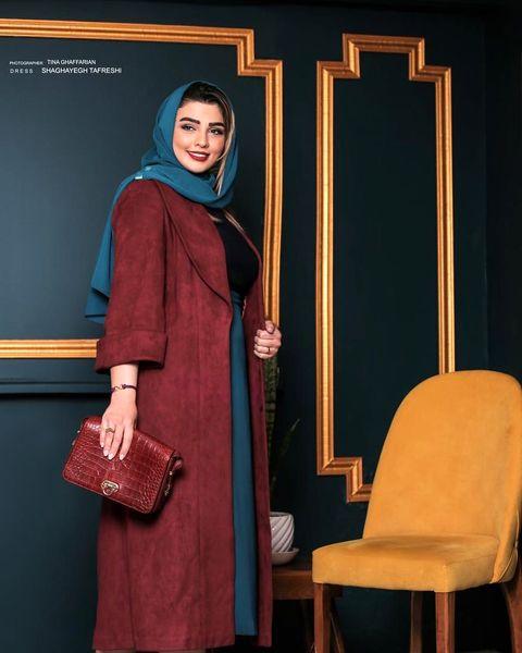 عکس آتلیه ای بازیگر زن وضعیت سفید+عکس
