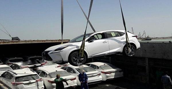 جدیدترین آمار واردات خودرو