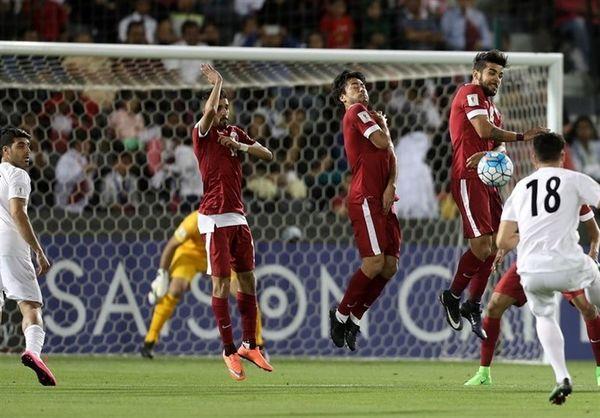 آخرین بازی قطر پیش از آغاز جام ملتهای آسیا برابر ایران