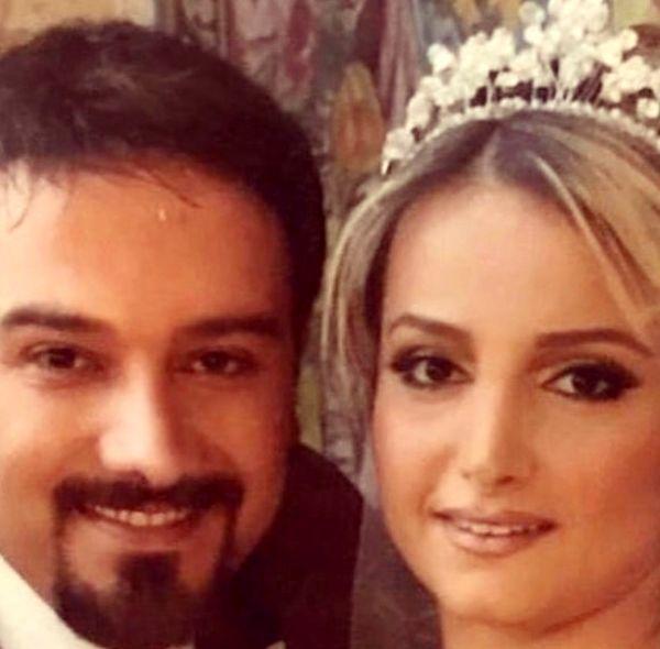 برزو ارجمند وهمسرش در روز عروسیشان + عکس