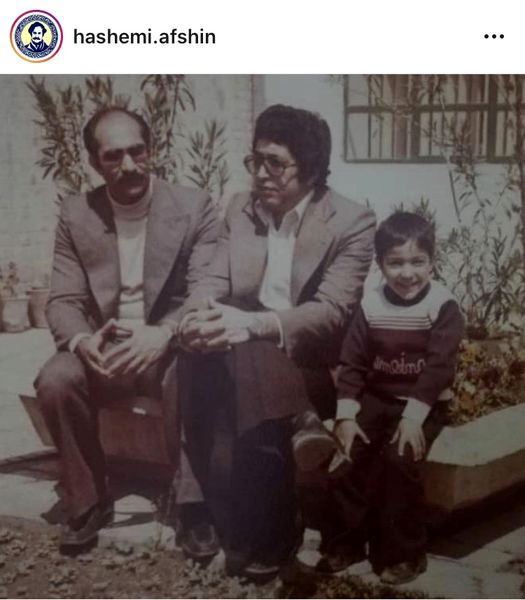 افشین هاشمی در زمان کودکی + عکس