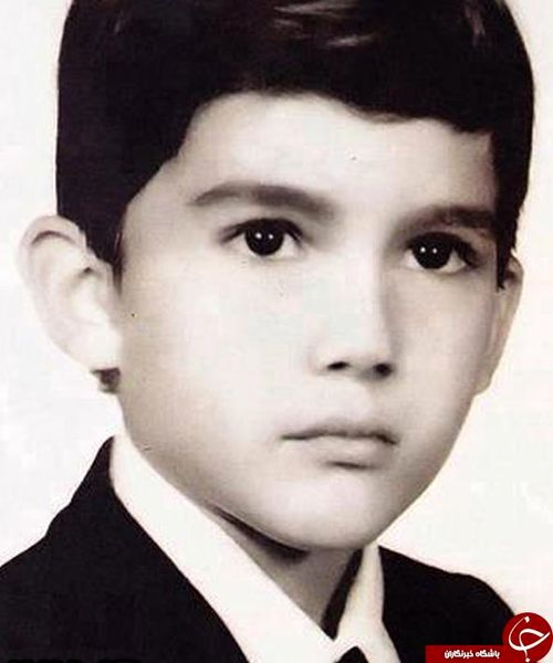 عکس دیده نشده از کودکی حامد بهداد