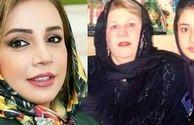 نوجوانی شبنم قلی خانی در کنار مادرش+عکس