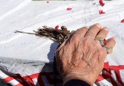 بازگشت پیکر مطهر شهید «ابوالفضل کلهر» پس از ۳۷ سال