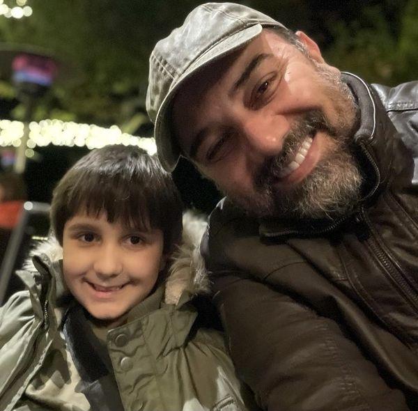 سلفی از جنس پدر پسری + عکس