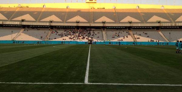 نمایندگان کنفدراسیون و ژاپنیها از ورزشگاه آزادی بازدید کردند