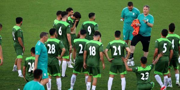 فردا اولین تمرین تیم ملی فوتبال در منامه به یک شرط