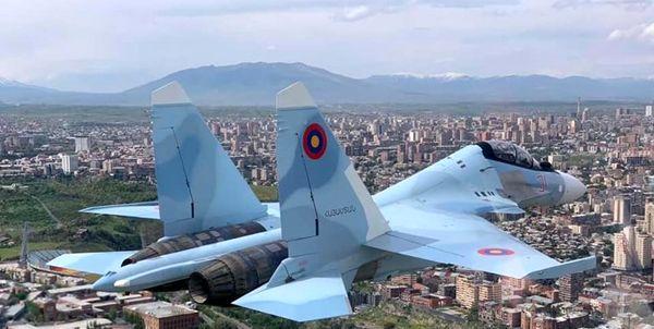 سقوط جنگنده «سوخو 30» روسیه