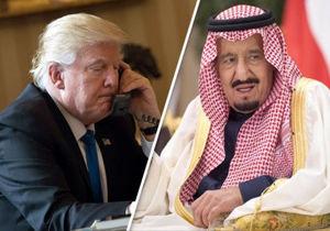 گفتوگوی تلفنی سلمان بن عبدالعزیز با ترامپ درباره فلسطین