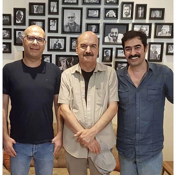 شهاب حسینی و ایرج طهماسبی در کنار هم + عکس