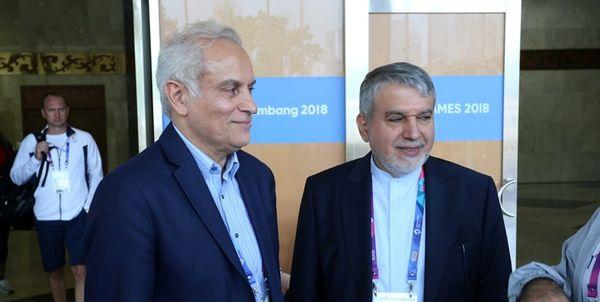 صالحیامیریبا رئیس IOC دیدار میکند