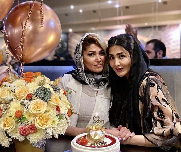 تولد لاکچری خواهر مریم معصومی در رستوران + عکس