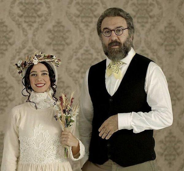 مرحوم علی انصاریان در عروسی الناز حبیبی + عکس