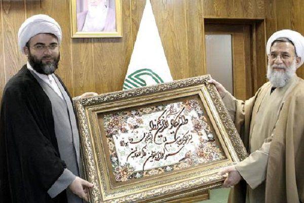 دیدار حجتالاسلام عباس محمدحسنی با رئیس سازمان تبلیغات اسلامی