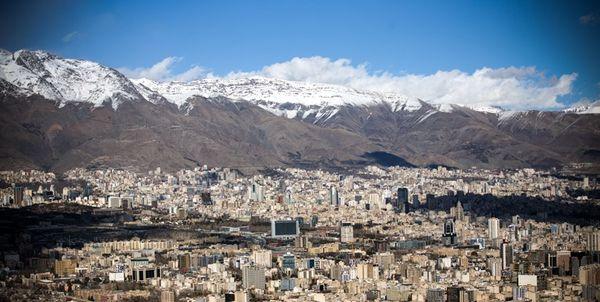 تهران سردتر می شود