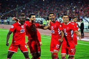 تصویر زیبا و دیده نشده از بازی پرسپولیس_السد