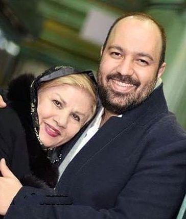 عکس مادرشوهر و شوهر نرگس محمدی
