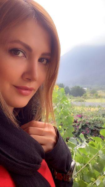 سمیرا حسینی در طبیعت زیبای شمال + عکس