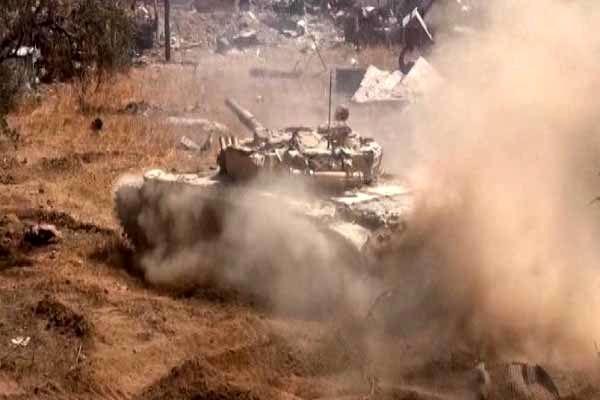 عملیات ارتش سوریه ضد داعش در شرق حمص