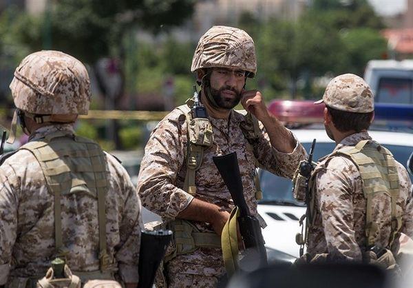 سیلی آبدار سپاه پاسداران