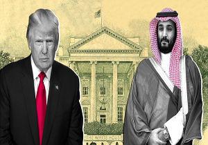 محمد بن سلمان باری بر دوش ترامپ
