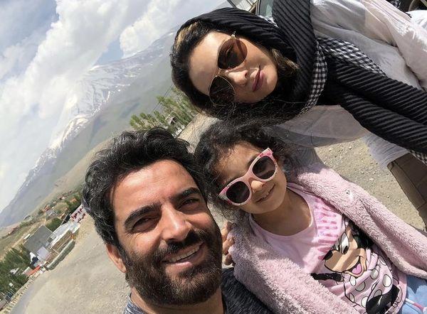 عکس جدید یکتا ناصر با خانواده اش