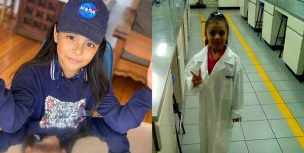 این دختر ۱۰ ساله باهوشتر از انیشتین است ! + عکس