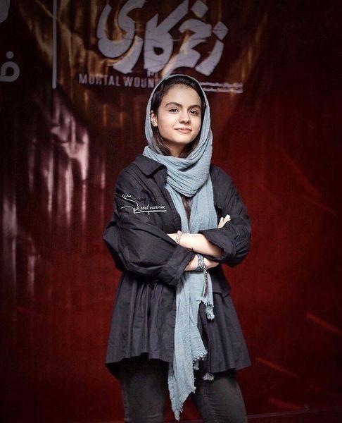 حضور سارا حاتمی در اکران زخم کاری + عکس