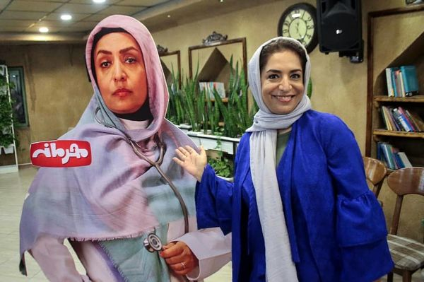 بازیگر زن طنزهای مهران مدیری به صورت خیلی بزرگ شده+عکس