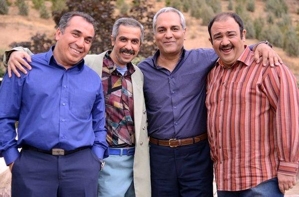 مهران مدیری، جواد رضویان و سیامک انصاری سریال میسازند