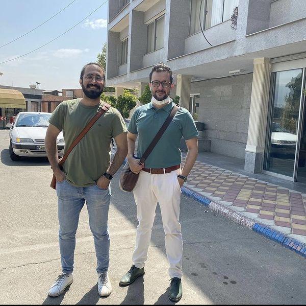 عکس جدید محمد سلوکی با دوستش