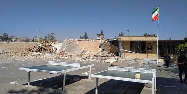 انفجار یک مدرسه در فولادشهر !