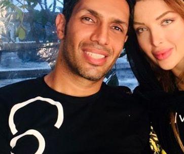 سپهر حیدری در کنار ملکه جانش+عکس
