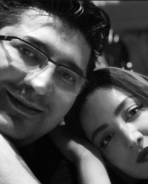 شیلا خداداد در آغوش همسرش + عکس