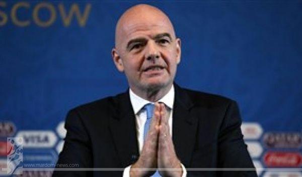 واکنش رییس فیفا به اختلاف با اروپاییها