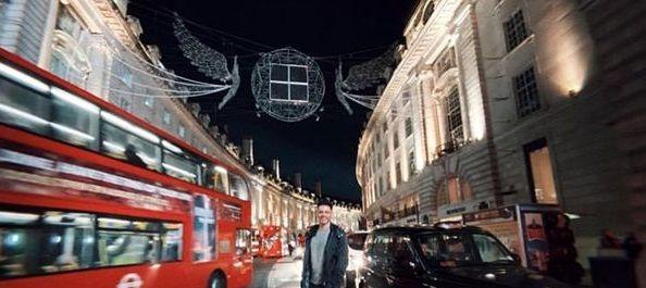 سیروان خسروی در خیابان انگلیس+عکس