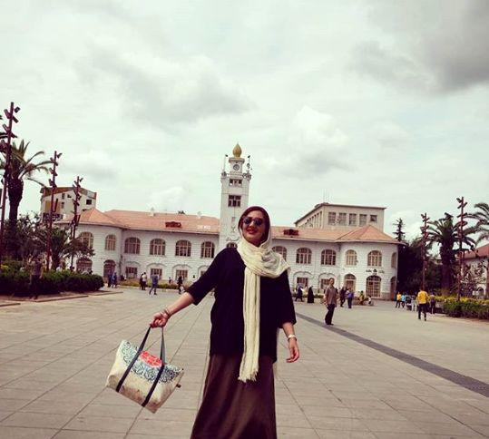 عکس شاد و مجلسی خانم مجری