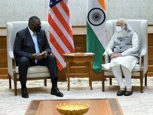 هدف سفر وزیر دفاع آمریکا به هند