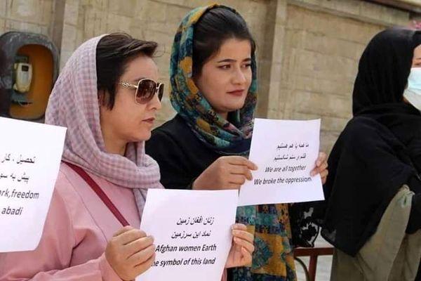 خواسته زنان کابل از طالبان + عکس