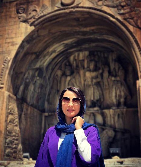 مسافرت مارال فرجاد به کرمانشاه+عکس