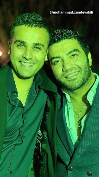 آرمان درویش در آغوش دوستش + عکس