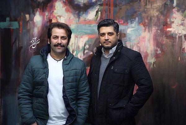 پندار اکبری و دوست صمیمی اش + عکس
