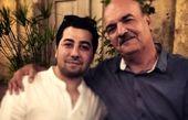 مانی نوری و آقای مجری مشهور + عکس