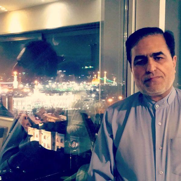 آقای مجری در کربلا+عکس