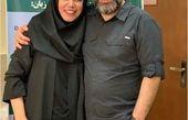 رضا رشیدپور و خواهر خانم دکترش+عکس