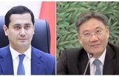 رایزنی مقامات ازبکستان و چین