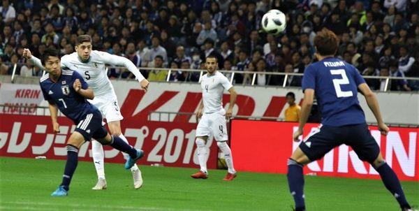 ساموراییها مقابل اروگوئه به پیروزی رسیدند
