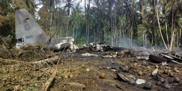 ادامه تلاشها برای یافتن جعبه سیاه هرکولس آمریکایی ارتش فیلیپین